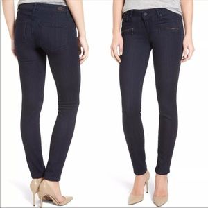 Paige Indio Skinny Moto Jeans Sz 25 :: MM22